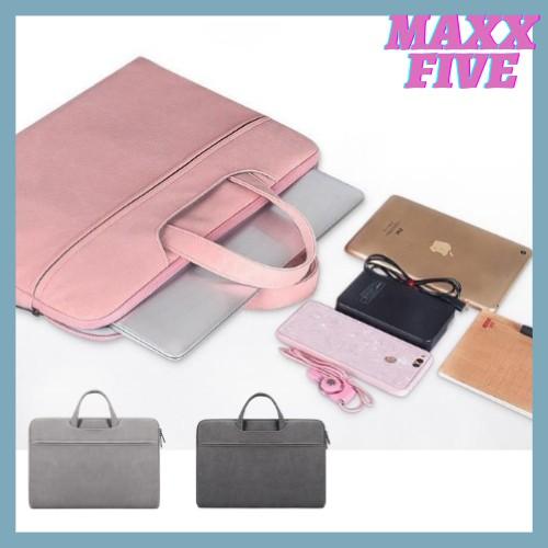 Túi chống sốc Laptop Macbook cao cấp 13,3 14 15,6 inch ST06 II Bảo Hành 1 Năm II Đựng Bao Da Nam Nữ II 2020