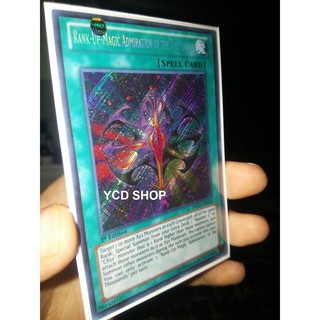 Thẻ bài yugioh chính hãng Rank-Up-Magic Admiration of the Thousands – SECRET RARE