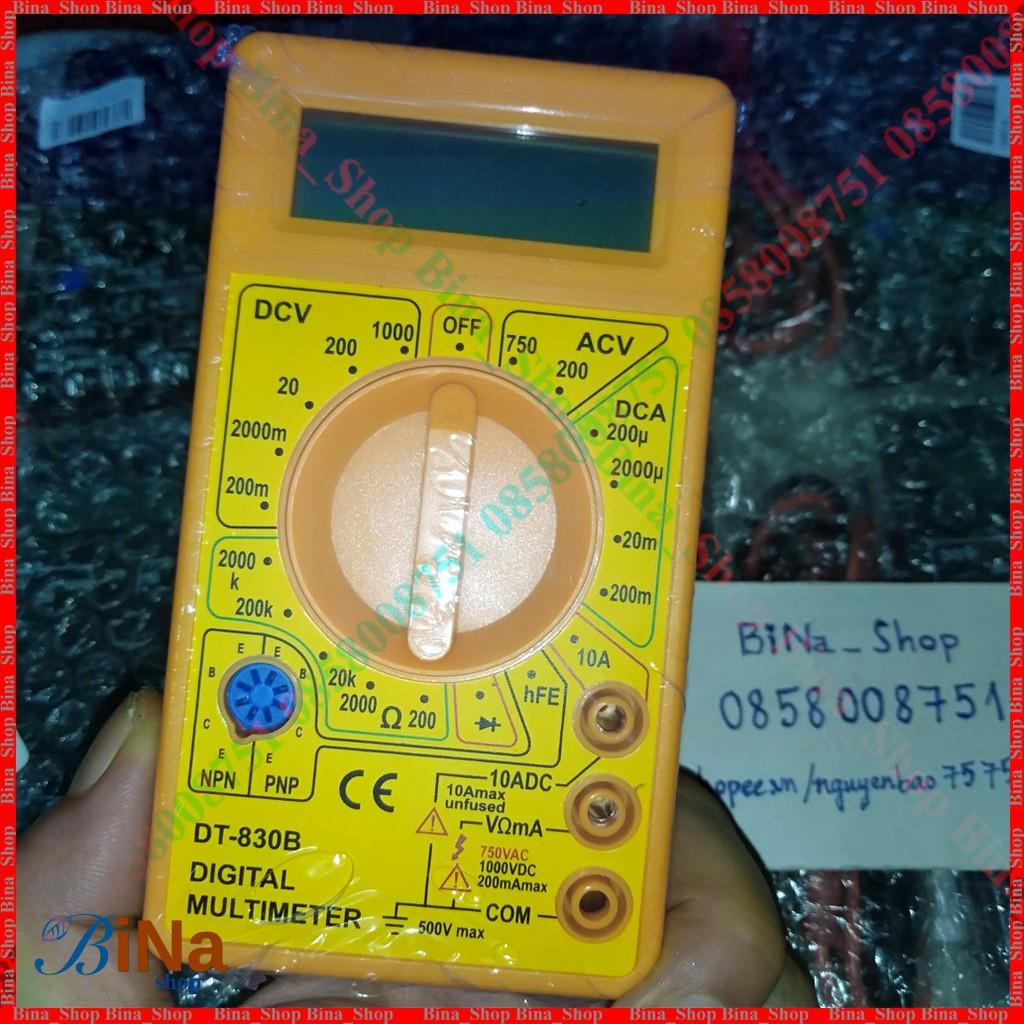 Đồng hồ vạn năng bỏ túi DT-830B kèm pin