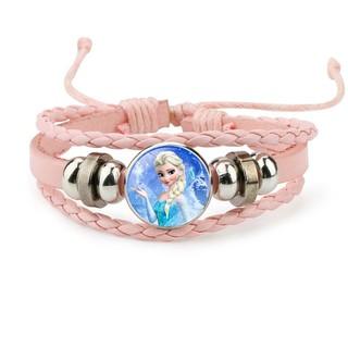 Vòng tay Elsa giả đồng hồ cho bé bằng da bện phong cách bụi BBShine J032 thumbnail