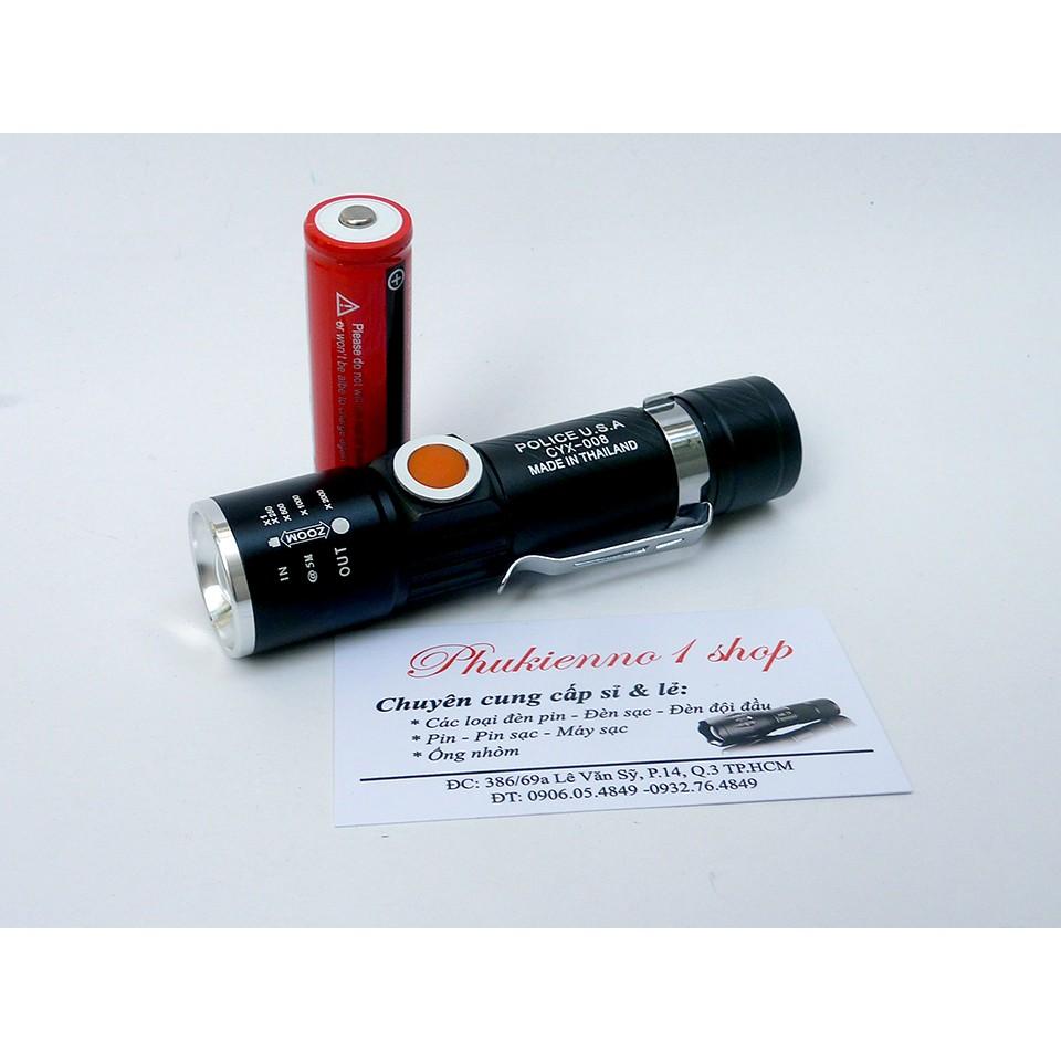 Đèn pin siêu sáng Police CYX-008, đèn pin siêu sáng, đèn led chống nước - 9997861 , 954975852 , 322_954975852 , 155000 , Den-pin-sieu-sang-Police-CYX-008-den-pin-sieu-sang-den-led-chong-nuoc-322_954975852 , shopee.vn , Đèn pin siêu sáng Police CYX-008, đèn pin siêu sáng, đèn led chống nước