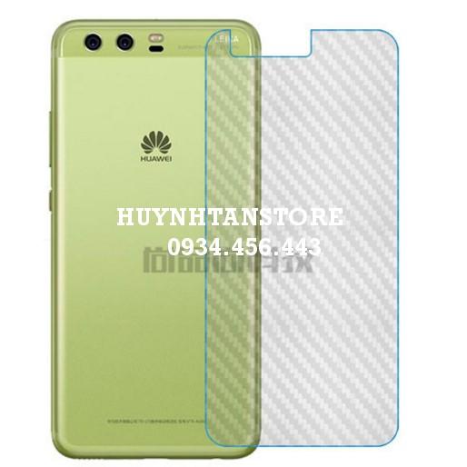 Huawei P10_Dán carbon mặt lưng chống trầy