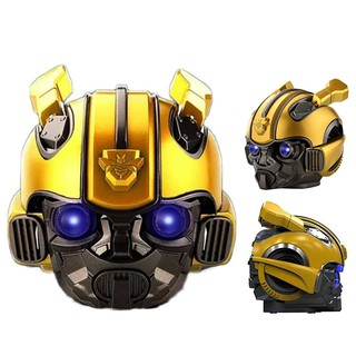 [Mã ELFLASH5 giảm 20K đơn 50K] [ Mẫu lớn] Loa Bluetooth hình đầu Bumblebee Siêu hay