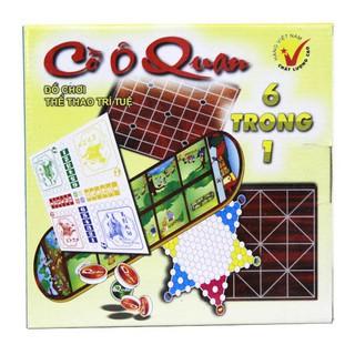 Bộ đồ chơi thể thao trí tuệ cờ Ô Quan dân gian truyền thông VIệt Nam