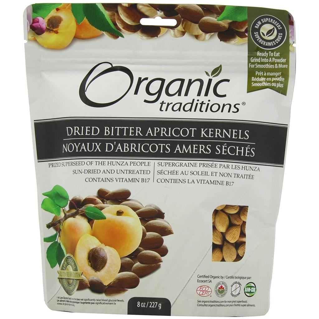 Hạt mơ đắng hữu cơ Organic Traditions