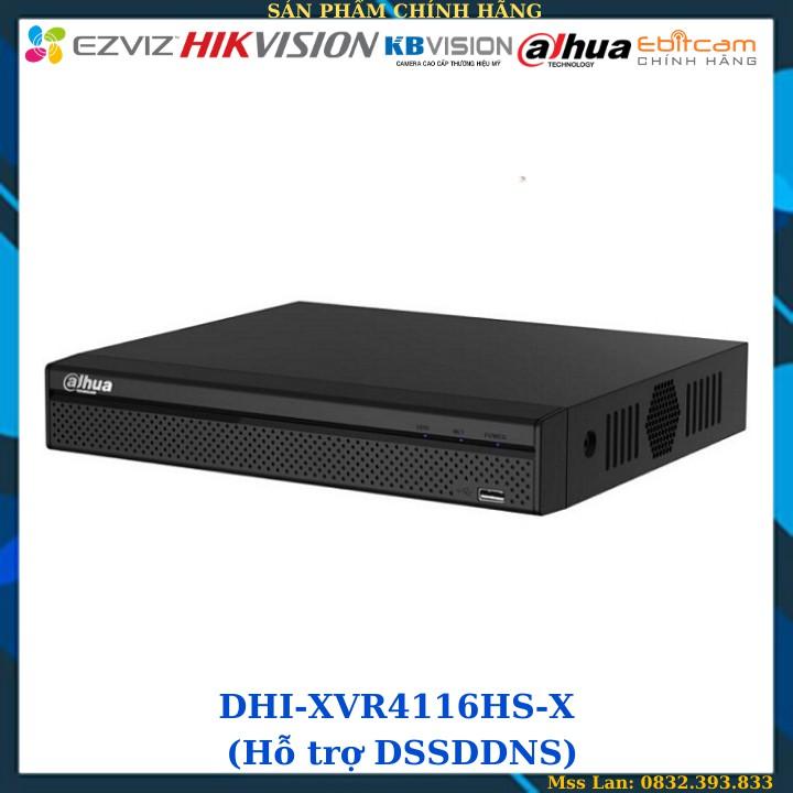 Đầu Ghi Hình Dahua 16 Kênh DHI-XVR4116HS-X (Hỗ trợ DSSDDNS) - Hàng Chính Hãng