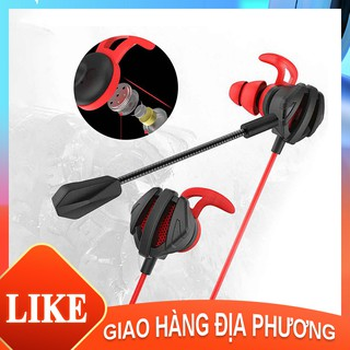 Tai nghe chơi game cho điện thoại di động PC G6 cung cấp trải nghiệm tốt cho micrô của Liên minh huyền thoại [NBG6]