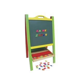 Đồ chơi gỗ – Bảng xếp học chữ và số Winwintoys