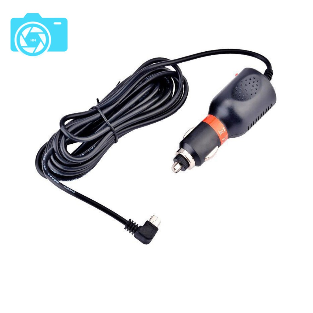 Tẩu cấp nguồn cho camera hành trình, nguồn vào 12-24V, nguồn ra 5V - 1.5/2A, dây 3.5m, đầu cắm mini USB