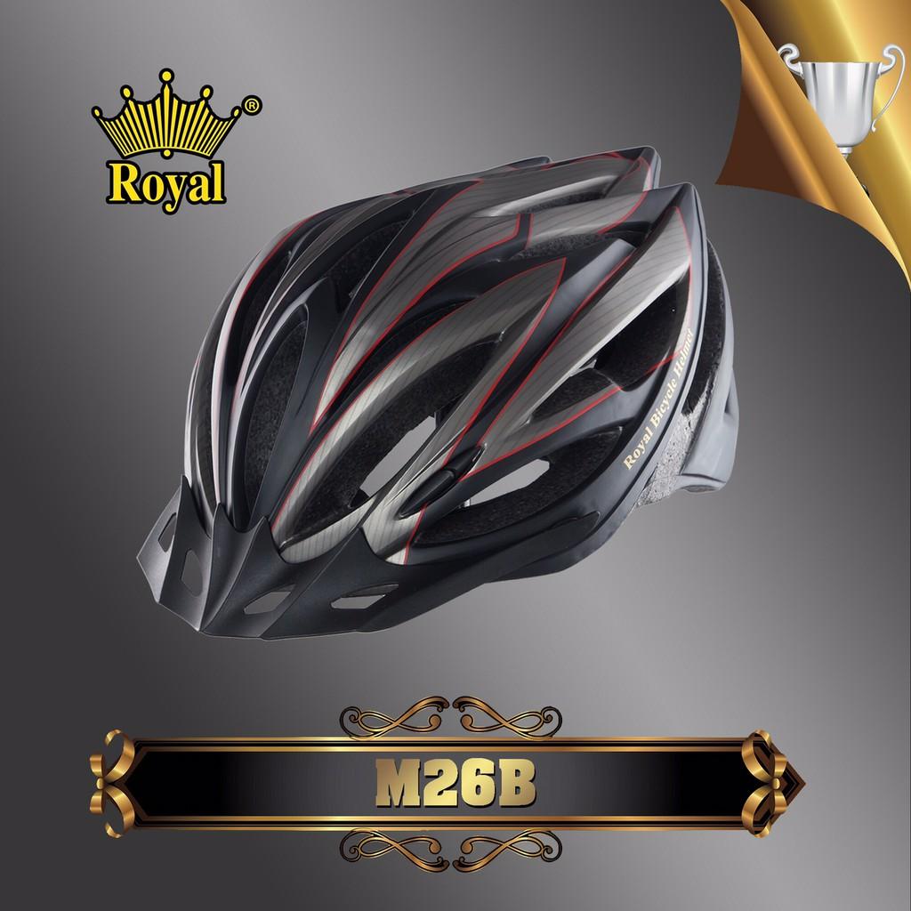 [Chính hãng] Mũ bảo hiểm xe đạp Royal JC Mũ bảo hiểm thể thao Royal JC Royal M26B