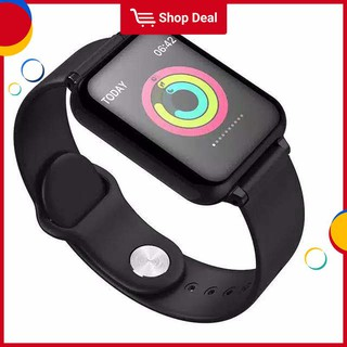 Đồng hồ thông minh thể thao B57 Bluetooth có thể đo nhịp tim huyết áp