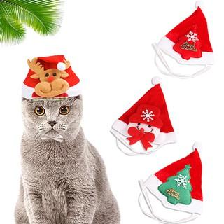 Mũ Noel Giáng Sinh Cho Chó Mèo Nhỏ (Dưới 7kg) - Kiểu Dáng Mới thumbnail