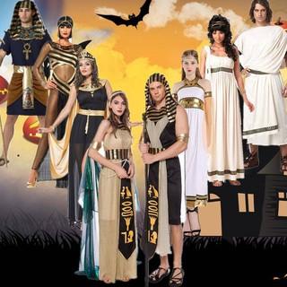 Trang Phục Hóa Trang Halloween Nhân Vật Pharaoh Hy Lạp Đẹp Mắt