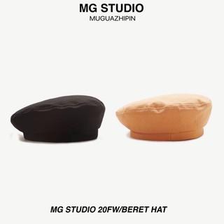 Mũ beret màu trơn MG STUDIO phong cách thời trang chất lượng cao