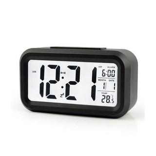 Đồng Hồ Để Bàn Điện Tử Led báo thức BT10 chuông to trang trí thông minh cao cấp màn hình LCD có lịch và nhiệt độ