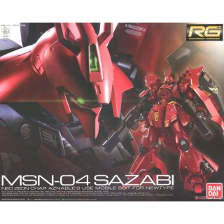 mô hình gundam – Sazabi – RG 1/144