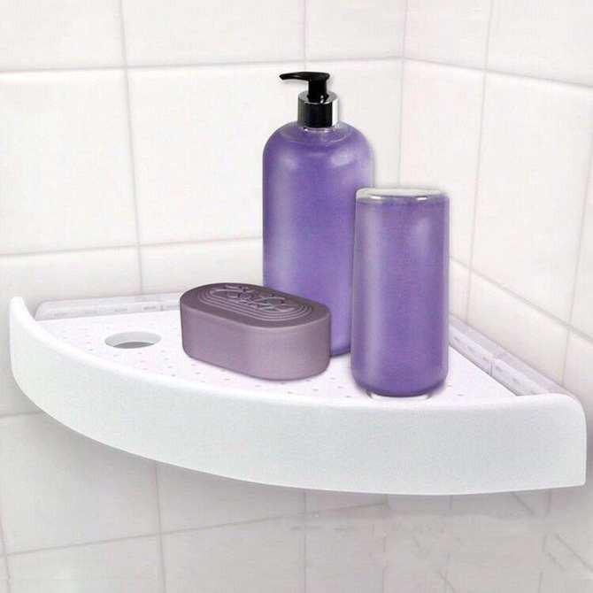 [SALE SẬP SÀN]  dụng cụ nhà vệ sinh - Kệ Góc Nhà Tắm | Bán Chạy