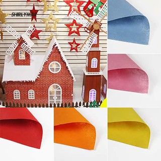 ஐSr Non-woven Felt Fabric Cloth Kids Children DIY Craft Art Design Scrapbook Kit