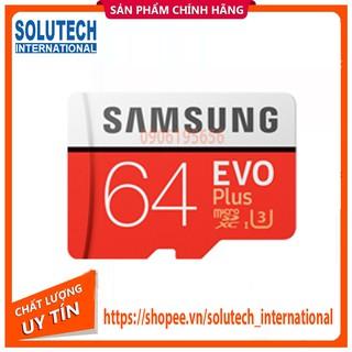 Thẻ Nhớ Micro SD Samsung Evo Plus 64GB U3 Class 10 – 100MB/s – Hàng Chính Hãng