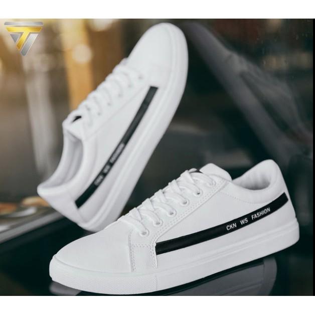 Giày Sneakers Nam phong cách thời trang Hàn Quốc TARANTO TRT-GTTN-34-TR