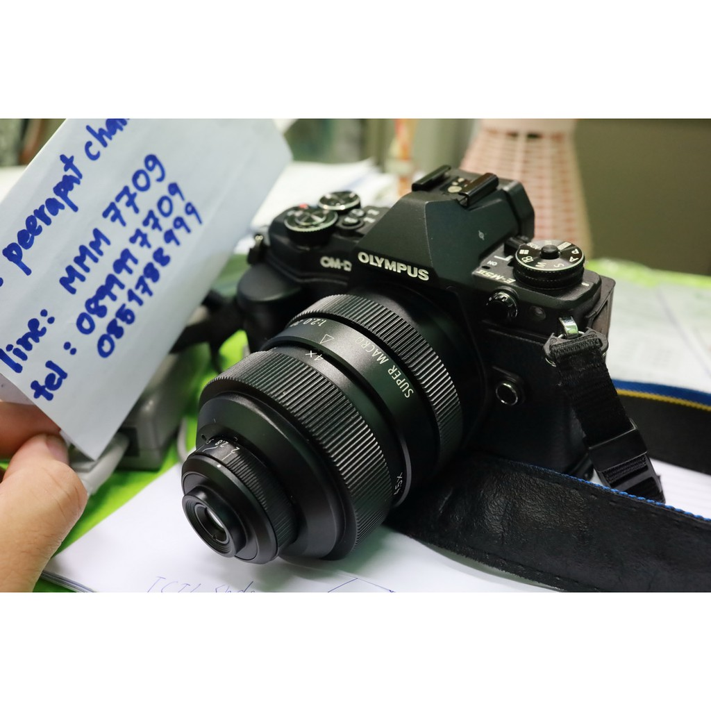 เลนส์เทพ Mitakon 20mm f/2 Super Macro