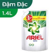 NƯỚC GIẶT ARIEL ĐẬM ĐẶC TÚI 1.4KG