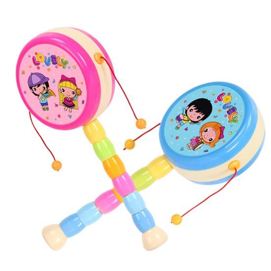 Đồ chơi trống lắc cầm tay vui nhộn cho bé