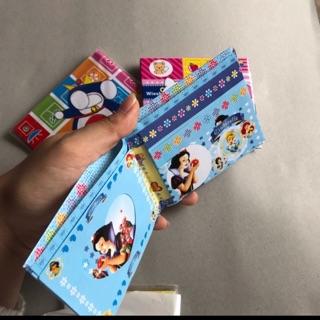 Set 10 cái ví trẻ em nhiều ngăn chống nước ( 10 cái các loại )