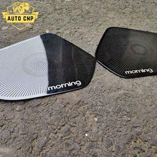 Ốp màng loa cho xe KIA MORNING chất liệu thép mạ TITAN, bảo vệ khu vực loa sạch sẽ không bụi bặm AUTO CNP thumbnail