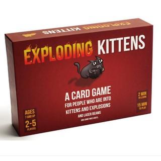 Mèo nổ cơ bản exploding kittens đỏ bản đẹp chất lượng giá rẻ A2200