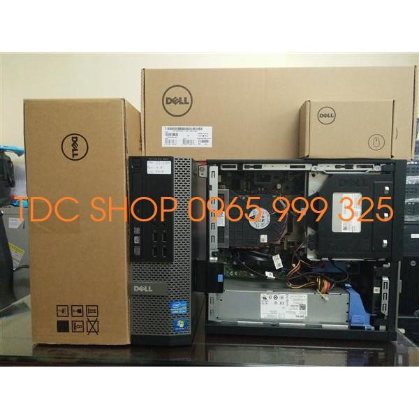 Thùng CPU Dell optiplex 990 (Core i3 2100/ ram 8gb/ ssd 120gb)Tặng chuột không dây, bàn di chuột, Bảo hành...