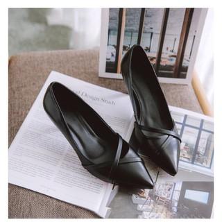Giày nữ cao gót thời trang siêu hót, A46