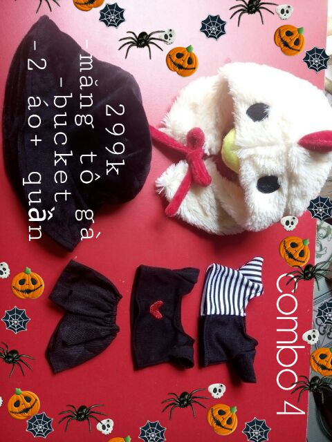 Combo outfit doll 20cm