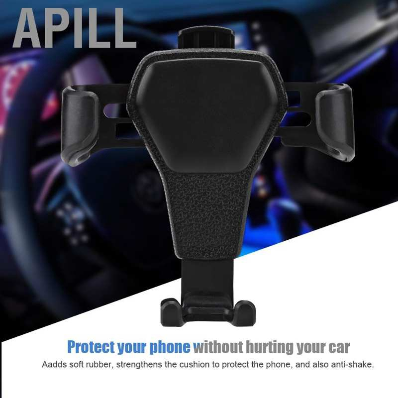 APILL Gravity Car Air Vent Mount Cradle Holder Stand for iPhone Mobile Cell Phone GPS
