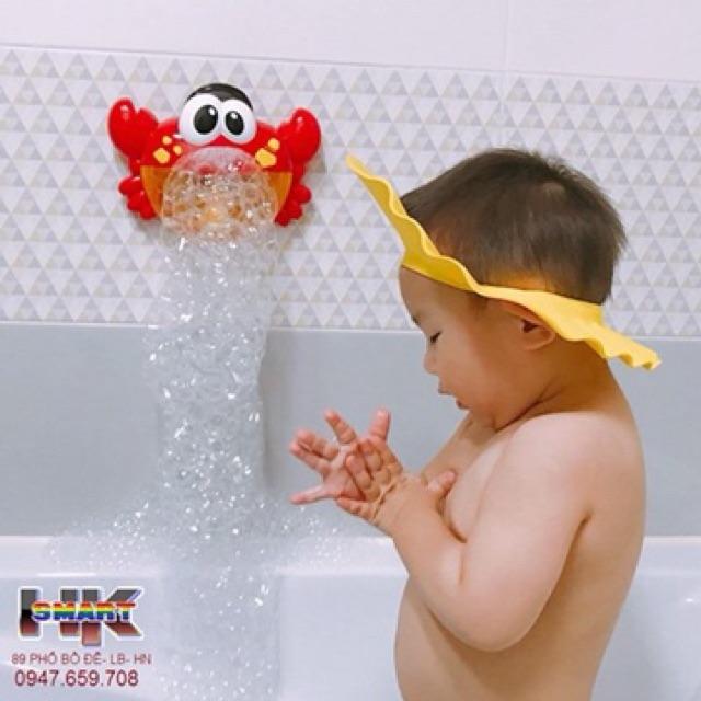 Đồ chơi cua tạo bọt bong bóng cho bé