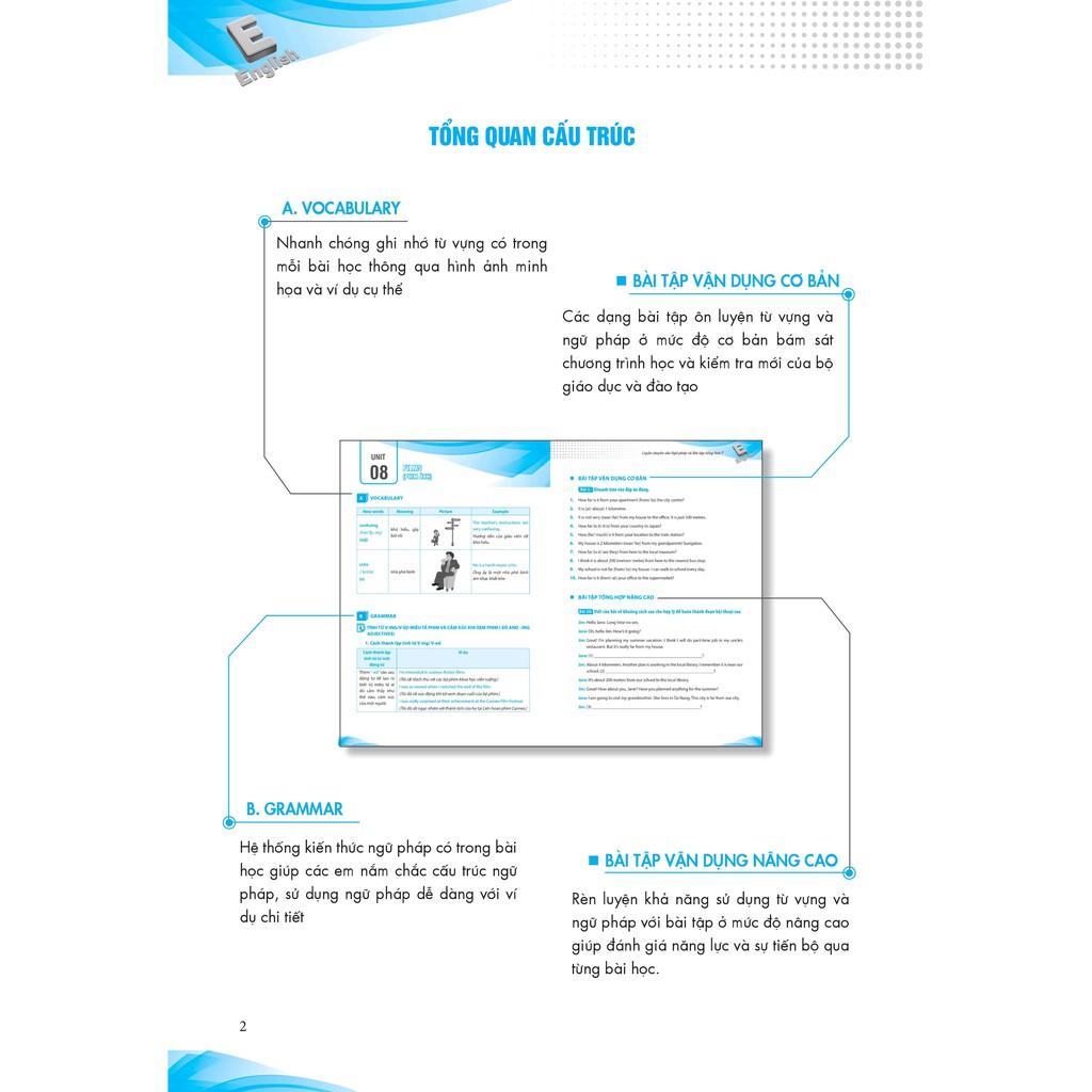 Sách - Combo Luyện Chuyên Sâu Ngữ Pháp Và Bài Tập Tiếng Anh 7 tập 2 + tập 2 (tặng bút) (Chương Trình Mới)