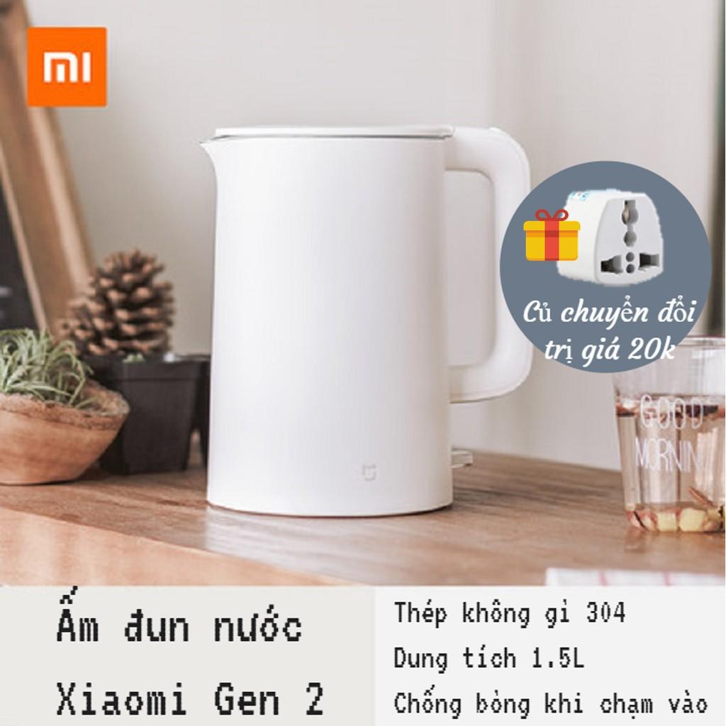 [CHÍNH HÃNG] Bình đun nước siêu tốc Xiaomi gen 2 - 2714061 , 61812586 , 322_61812586 , 500000 , CHINH-HANG-Binh-dun-nuoc-sieu-toc-Xiaomi-gen-2-322_61812586 , shopee.vn , [CHÍNH HÃNG] Bình đun nước siêu tốc Xiaomi gen 2