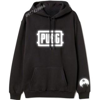Áo thun tay ngắn in hình Áo hoodie PUBG phản quang, áo hoodie game PUBG phản quang giá rẻ độc chất