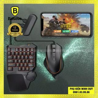 Bộ sản phẩm hỗ trợ chơi Game Baseus GAMO Mobile Game Suit (Combo Chuột + Bàn phím cơ + Adaptor cho Game thủ PUBG...) thumbnail