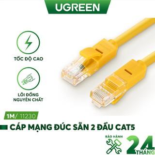 Cáp mạng đúc sẵn 2 đầu Cat 5 Ugreen NW103 - Hàng chính hãng