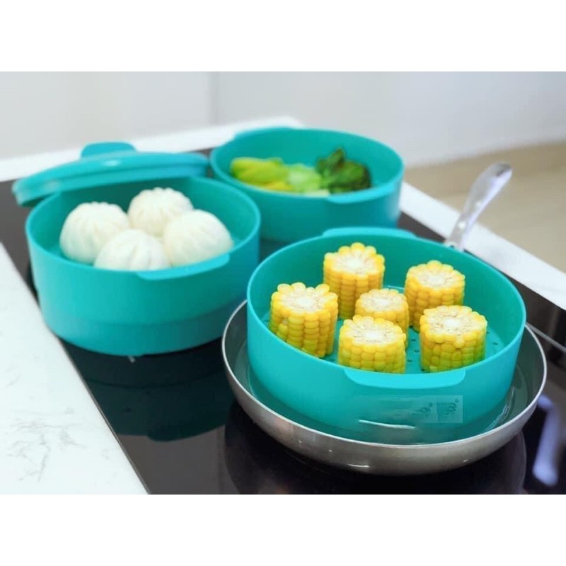 Tupperware - Xửng hấp Steam it Paradise 3 tầng