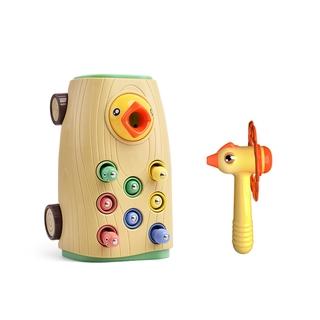 Đồ chơi HDY kiểu chim gõ kiến bắt côn trùng có nhạc mang tính giáo dục làm quà tặng cho bé thumbnail