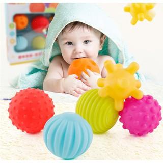 Bóng mềm cho bé – Bộ bóng cảm quan (Soft Ball)