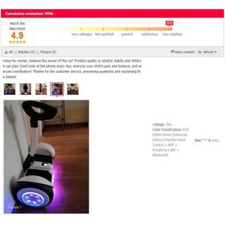 Xe điện cân bằng (2 Tay cầm hoặc Kẹp chân) Đa năng Bluetooth + App điều khiển (Hàng tốt phù hợp cho trẻ em) [MÃ HD001]