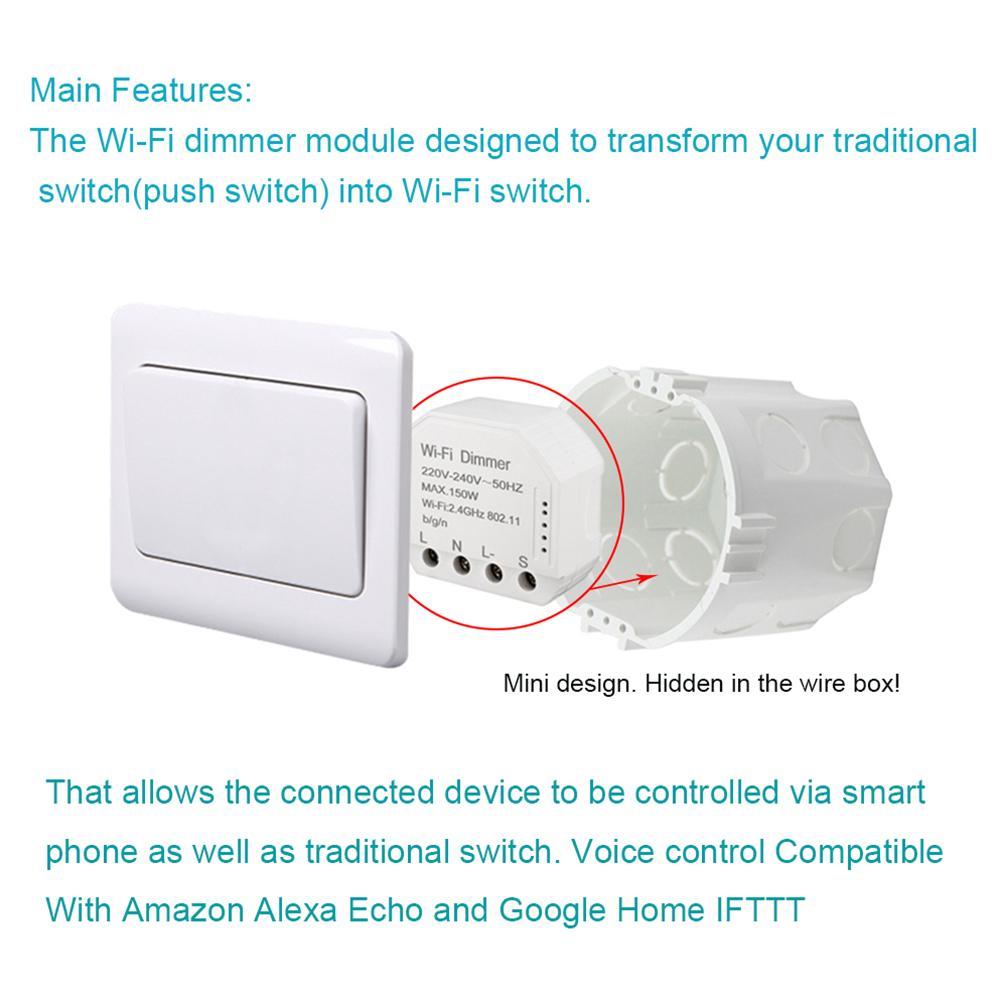 150W 220V-240V Voice Timer Smart LED Light Home Controller