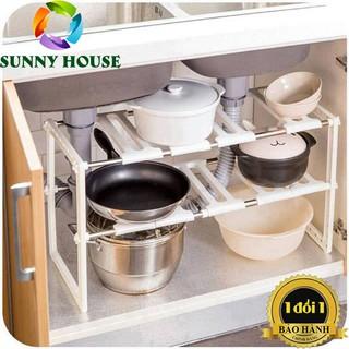[Freeship] [LOẠI 1] Kệ gầm bếp đa năng INOX 304, kệ đựng dụng cụ nhà bếp
