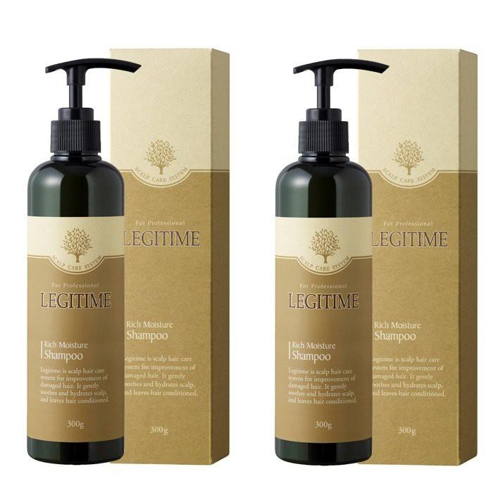Dầu gội thảo dược tóc khô LEGITIME ngăn rụng,gàu , dầu,ngứa kích thích mọc tóc 300ml
