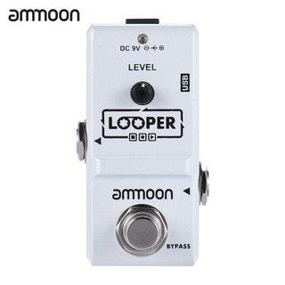 yohi2018 ammoon AP-09 Nano Series Loop Electric Guitar Effect Pedal True Bypass