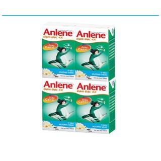 Thùng 48 hộp sữa Anlene Đậm đặc 4X đủ mùi 110ml date 1 2021