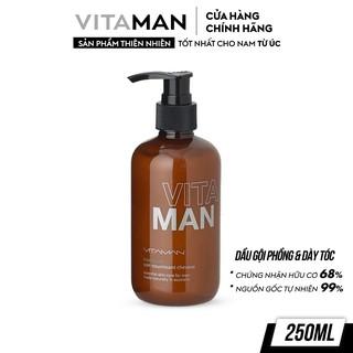 Dầu Gội Làm Phồng Tóc Dành Cho Nam Vitaman Grooming Volumising Shampoo 250ml